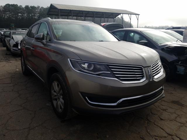 Vehiculos salvage en venta de Copart Austell, GA: 2017 Lincoln MKX Premium