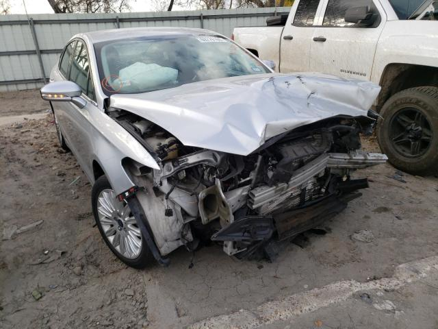 Salvage cars for sale from Copart Corpus Christi, TX: 2015 Ford Fusion SE