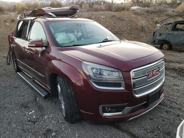 Salvage cars for sale from Copart Reno, NV: 2016 GMC Acadia DEN