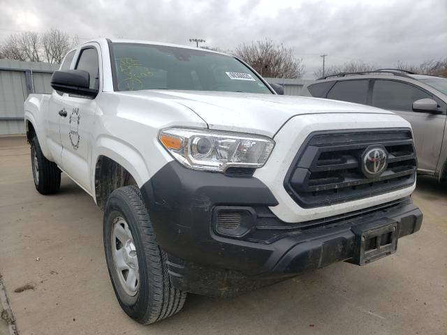 Salvage cars for sale from Copart Wilmer, TX: 2020 Toyota Tacoma ACC