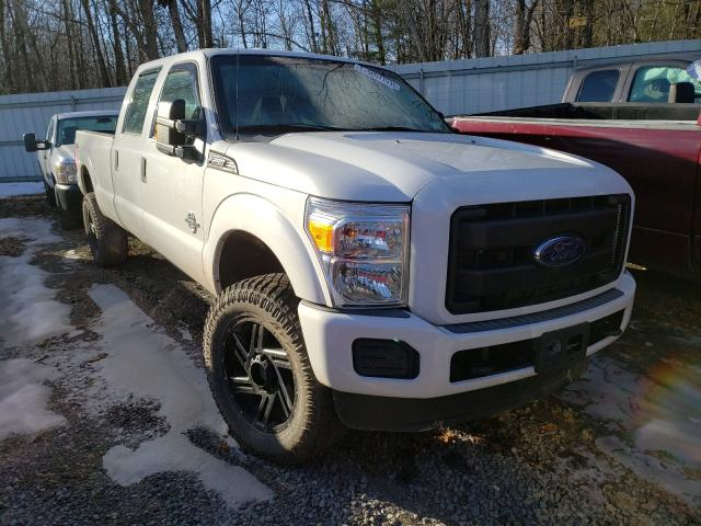Salvage cars for sale from Copart Albany, NY: 2015 Ford F250 Super
