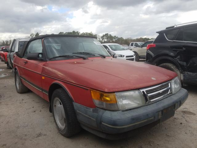 Saab salvage cars for sale: 1991 Saab 900 Base