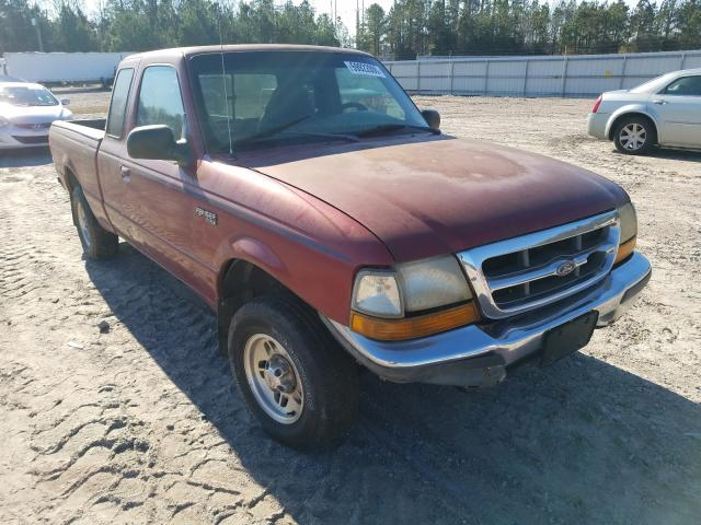 Salvage cars for sale from Copart Charles City, VA: 1998 Ford Ranger SUP