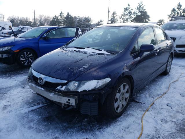 из сша 2010 Honda Civic Lx 1.8L 2HGFA1F54AH558853