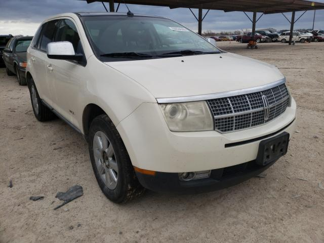 Salvage cars for sale from Copart Temple, TX: 2007 Lincoln MKX