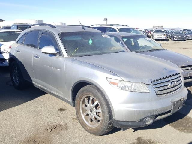 Salvage cars for sale from Copart Martinez, CA: 2005 Infiniti FX35