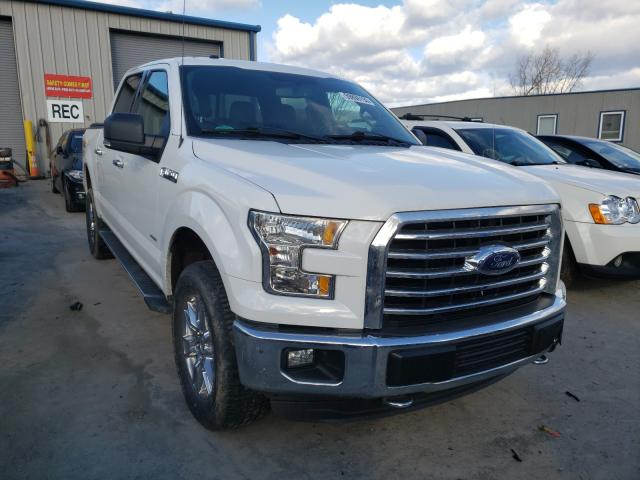 Salvage cars for sale from Copart Duryea, PA: 2016 Ford F150 Super