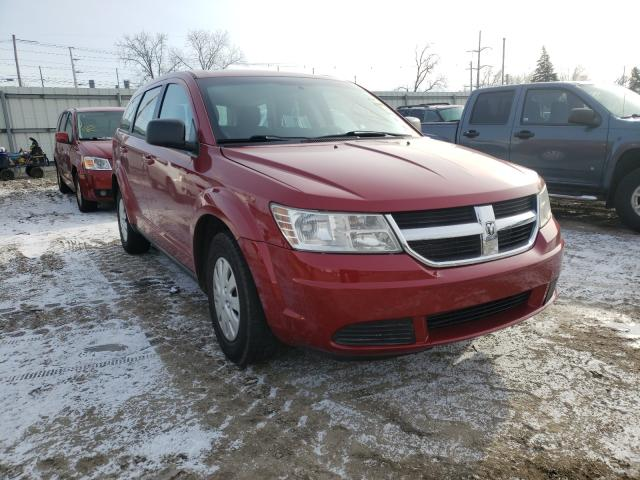 Salvage cars for sale from Copart Lansing, MI: 2010 Dodge Journey SE