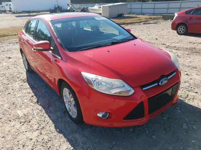 Salvage cars for sale from Copart Charles City, VA: 2012 Ford Focus SEL
