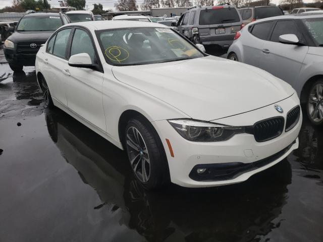 Salvage cars for sale from Copart Colton, CA: 2018 BMW 330 I