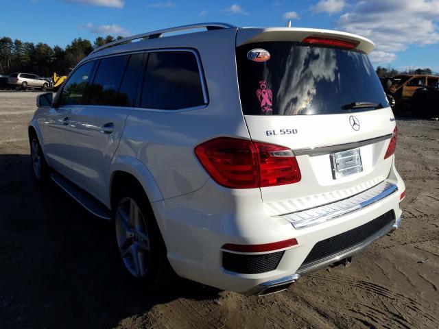 Prodazha 2015 Mercedes Benz Gl 550 4ma 4 6l White V Mendon Ma 60275500 A Better Bid