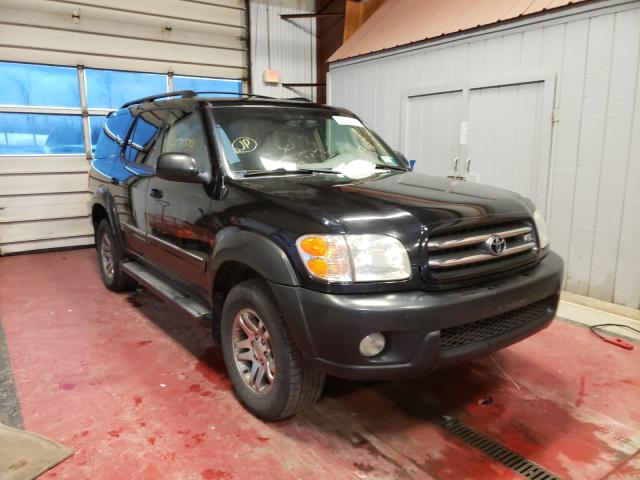 Salvage cars for sale from Copart Angola, NY: 2004 Toyota Sequoia LI