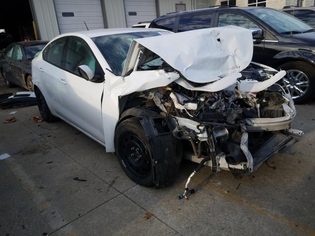 Vehiculos salvage en venta de Copart Louisville, KY: 2016 Dodge Dart SE