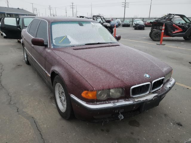 Salvage cars for sale from Copart Nampa, ID: 2000 BMW 740 IL