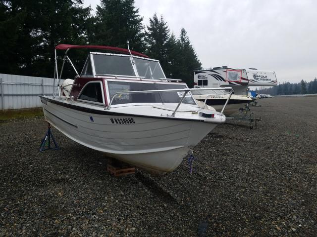 Salvage cars for sale from Copart Graham, WA: 1969 Starcraft Boat