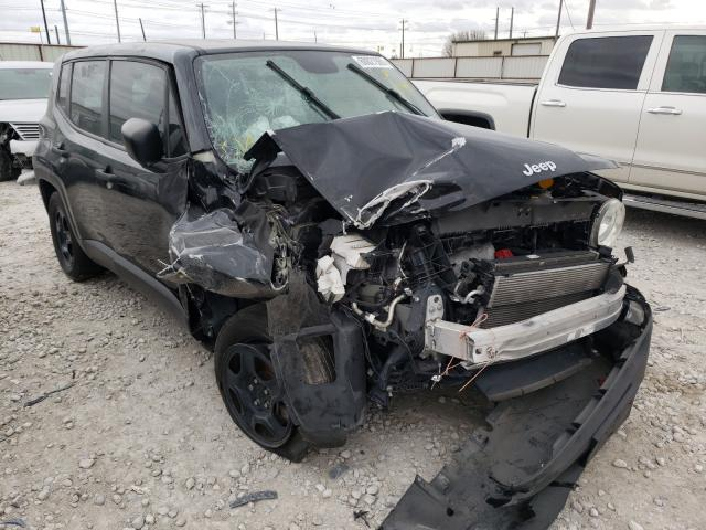 Salvage cars for sale from Copart Haslet, TX: 2018 Jeep Renegade S
