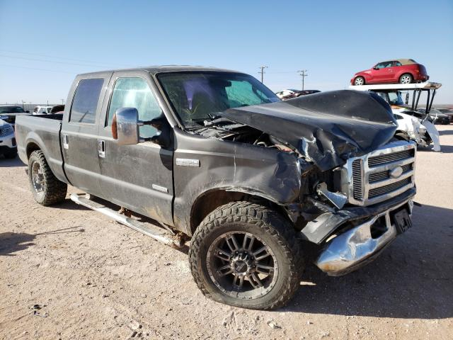Salvage cars for sale from Copart Andrews, TX: 2005 Ford F250 Super