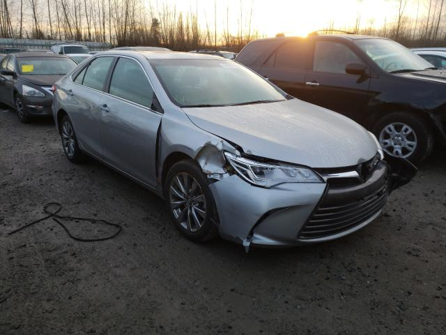 Salvage cars for sale from Copart Arlington, WA: 2017 Toyota Camry XSE