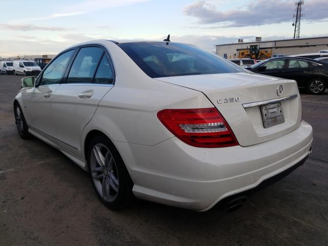 купить 2012 Mercedes-Benz C 250 1.8L WDDGF4HB1CA646789