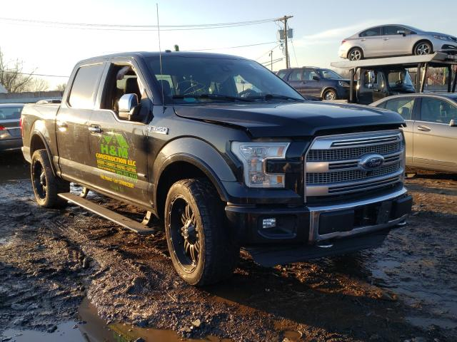 Salvage cars for sale from Copart Hillsborough, NJ: 2015 Ford F150 Super