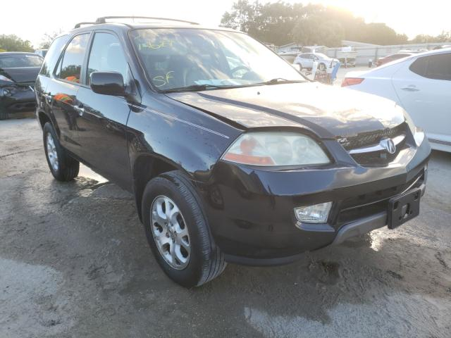 Salvage cars for sale from Copart Punta Gorda, FL: 2002 Acura MDX Touring