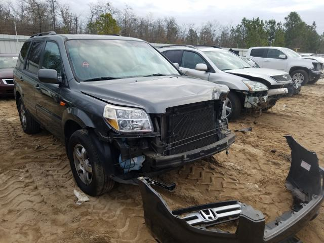 Salvage cars for sale from Copart Gaston, SC: 2007 Honda Pilot EXL