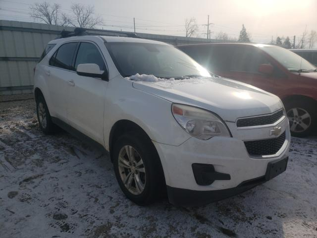 Salvage cars for sale from Copart Lansing, MI: 2013 Chevrolet Equinox LT
