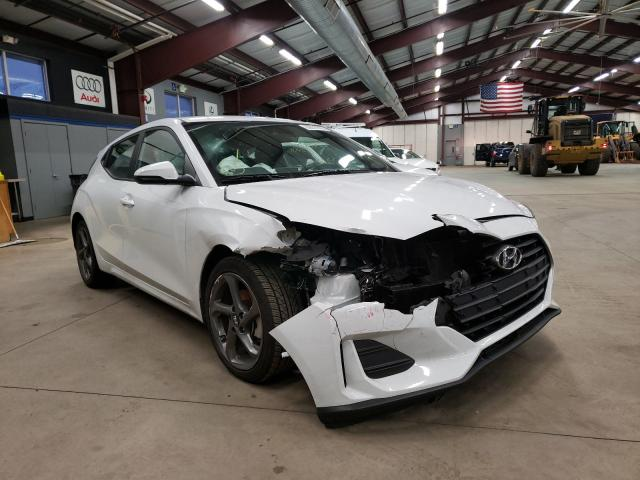 Salvage cars for sale from Copart East Granby, CT: 2019 Hyundai Veloster B