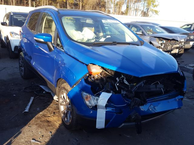 Salvage cars for sale from Copart Knightdale, NC: 2019 Ford Ecosport T