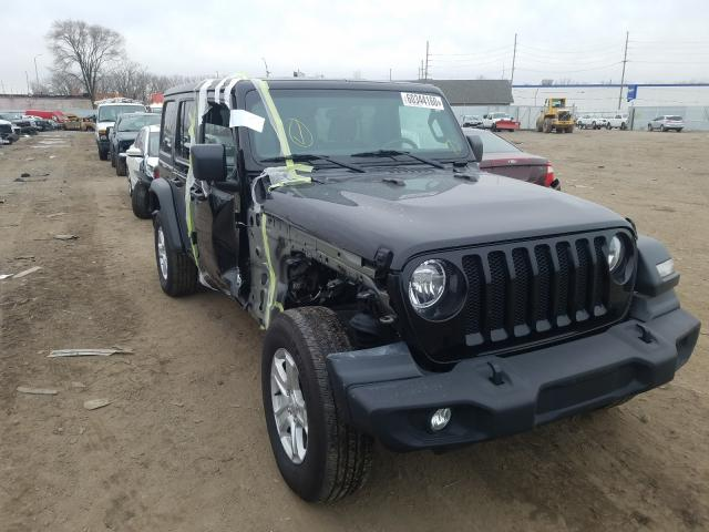 Salvage cars for sale from Copart Hammond, IN: 2019 Jeep Wrangler U