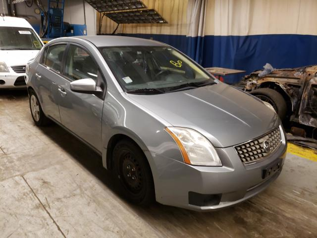 Salvage cars for sale from Copart Wheeling, IL: 2007 Nissan Sentra 2.0