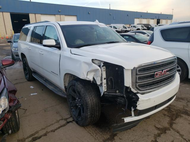 Salvage cars for sale from Copart Woodhaven, MI: 2017 GMC Yukon XL K