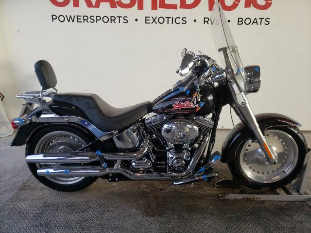 Salvage cars for sale from Copart Riverview, FL: 2008 Harley-Davidson Flstf