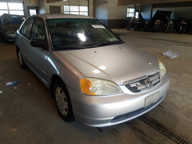 Salvage cars for sale from Copart Sandston, VA: 2003 Honda Civic LX