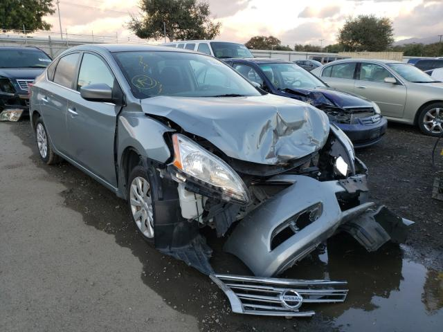 Nissan salvage cars for sale: 2014 Nissan Sentra S