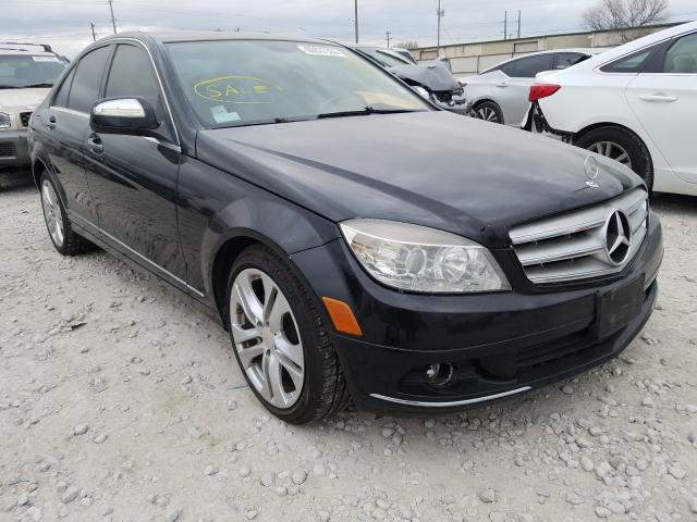 Salvage cars for sale from Copart Haslet, TX: 2008 Mercedes-Benz C 300 4matic