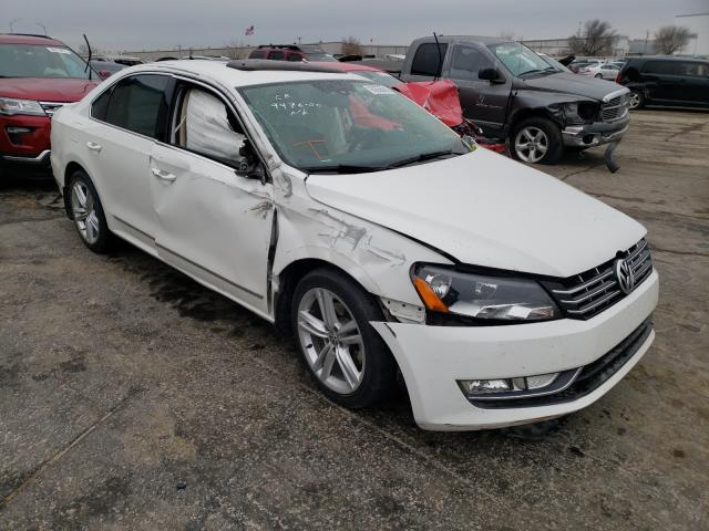 Salvage cars for sale from Copart Tulsa, OK: 2014 Volkswagen Passat SEL