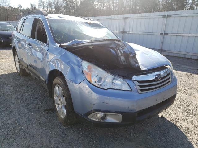Salvage cars for sale from Copart Fredericksburg, VA: 2011 Subaru Outback 2
