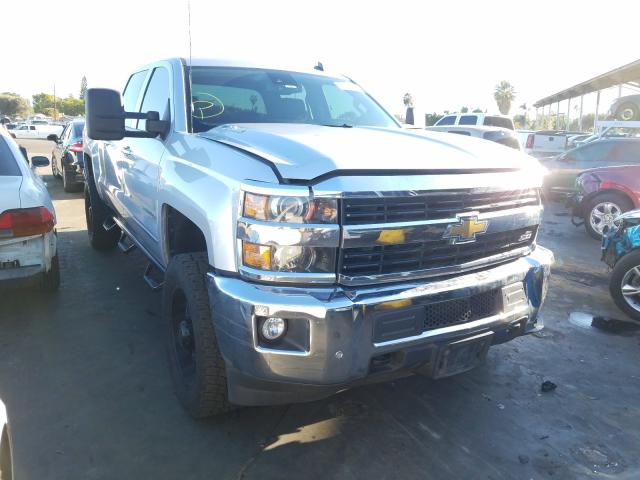 Salvage cars for sale from Copart Van Nuys, CA: 2015 Chevrolet Silverado