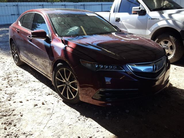 Salvage cars for sale from Copart Midway, FL: 2015 Acura TLX Tech