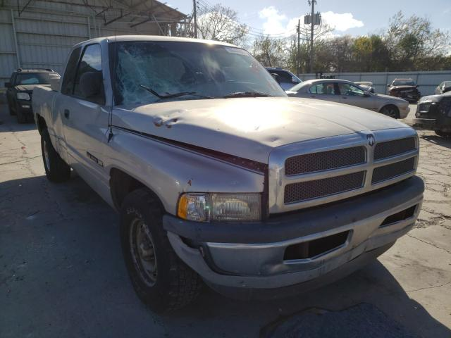 Salvage cars for sale from Copart Corpus Christi, TX: 2000 Dodge RAM 1500