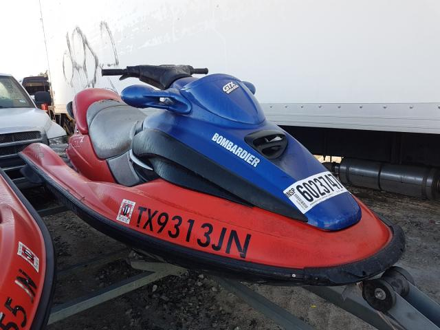 Salvage cars for sale from Copart Houston, TX: 2001 Bombardier Jetski