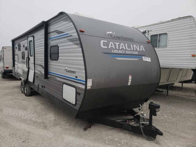 Salvage cars for sale from Copart Des Moines, IA: 2020 Coachmen Catalina