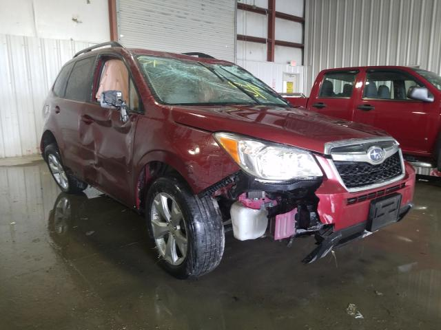 Salvage cars for sale from Copart Albany, NY: 2014 Subaru Forester 2