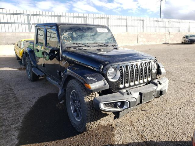 Salvage cars for sale from Copart Albuquerque, NM: 2020 Jeep Gladiator