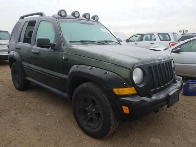 Jeep Liberty salvage cars for sale: 2006 Jeep Liberty