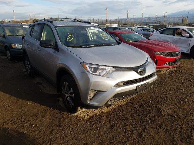 Salvage cars for sale from Copart San Martin, CA: 2018 Toyota Rav4 LE