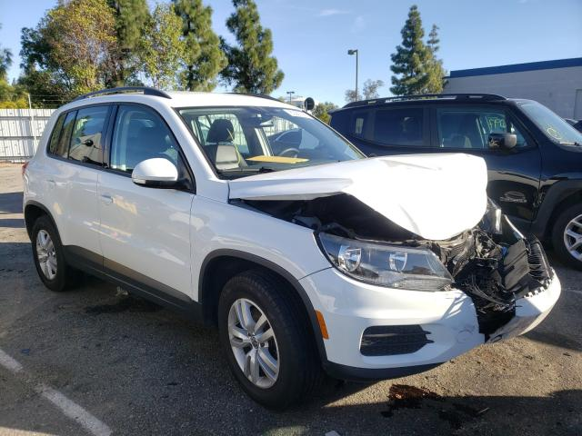 Salvage cars for sale from Copart Rancho Cucamonga, CA: 2017 Volkswagen Tiguan S