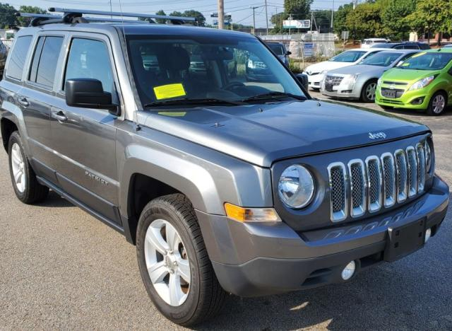 Salvage cars for sale from Copart Mendon, MA: 2012 Jeep Patriot SP