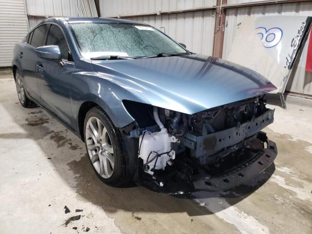 Salvage cars for sale from Copart Temple, TX: 2014 Mazda 6 Touring